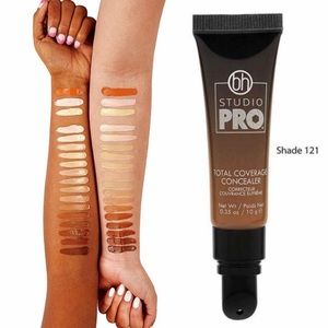 bh STUDIO PRO Total Coverage Concealer Shade 121